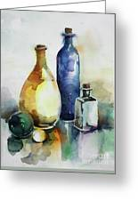 My Glass Collection Iv Greeting Card