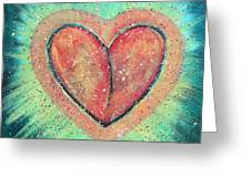 My Heart Loves You Greeting Card
