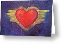 My Heart My Strength Greeting Card