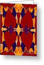 My Love Is Alive Abstract Bliss Art By Omashte Greeting Card