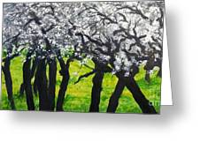 My Love Of Trees II Greeting Card