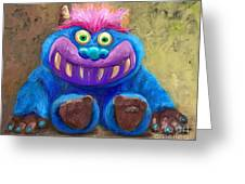 My Monster Friend Greeting Card
