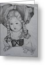 My Old Doll Greeting Card