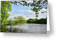 My Place By The River Greeting Card