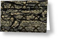 My Pretty Rock Wall Greeting Card