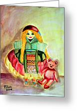 My Russian Doll Greeting Card