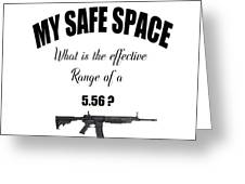 My Safe Space Greeting Card