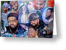 My Song Tribute To The Late Gerald Levert Greeting Card