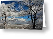 My Sunday Happy Holidays Card Greeting Card