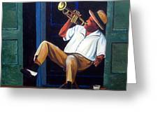 My Trumpet Greeting Card