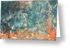My Turquoise Greeting Card