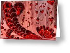 My Valentine Greeting Card by Joy Gerow