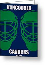 My Vancouver Canucks Greeting Card