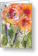 My Wild Roses Greeting Card