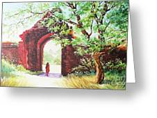 Myanmar Custom_010 Greeting Card