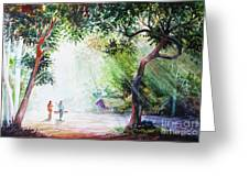 Myanmar Custom_011 Greeting Card