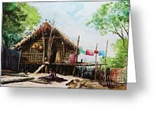 Myanmar Custom_016 Greeting Card