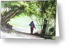 Myanmar Custom_06 Greeting Card