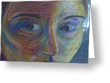 Mylar Portrait Greeting Card