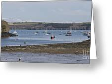 Mylor Panorama Greeting Card