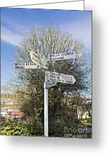 Mylor Signpost Greeting Card