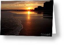 Myrtle Beach Sunset Greeting Card