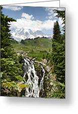 Myrtle Falls Greeting Card