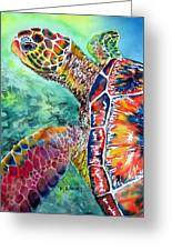 Myrtle The Turtle Greeting Card