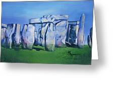 Mysterious Monoliths Greeting Card
