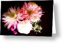 Mystery Of A Flower Greeting Card