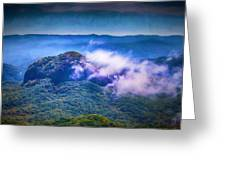 Mystery Of Looking Glass Rock Greeting Card