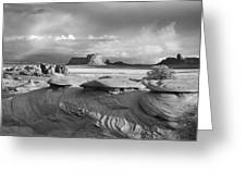 Mystery Valley Overlook Ir 0550 Greeting Card
