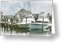 Mystic Harbour Greeting Card