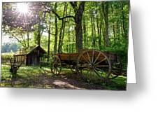 Mystic Mountain Greeting Card
