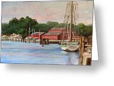 Mystic River Argia Greeting Card