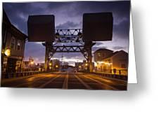 Mystic Sky Bridge Greeting Card