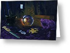 Mystic Still Life Greeting Card