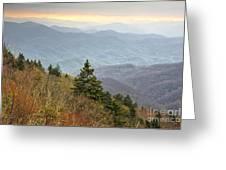 Blue Ridge Mountain 3 Greeting Card