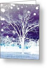 Mystical Dreamscape Greeting Card
