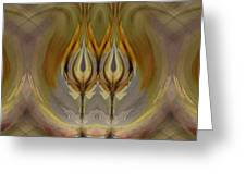 Mystical Flowers Greeting Card