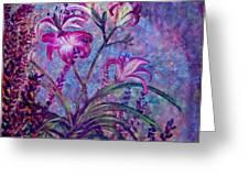 Mystical Garden Greeting Card