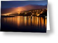 Mystical Golden Gate Bridge Greeting Card
