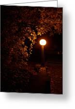 Mystical Light Greeting Card
