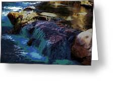 Mystical Springs Greeting Card