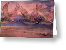 Mystical Trio Greeting Card