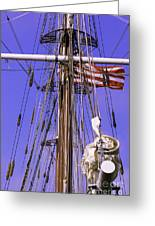 Mystic's Masts Greeting Card