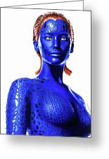 Mystique Drawing Greeting Card