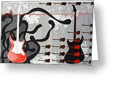Mystry Of Music 6 Greeting Card