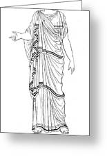 Mythology: Hera/juno Greeting Card