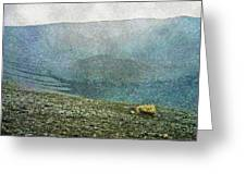 Myvatn Mooncrater Greeting Card